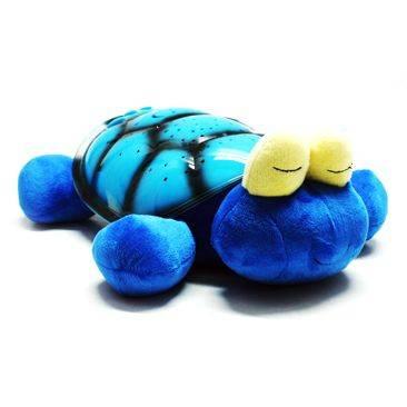 Ночник Черепаха - проектор звездного неба музыкальная синяя