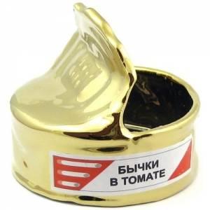 """Пепельница """"Бычки в томате"""""""
