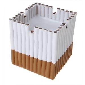 Пепельница Сигареты в квадрате