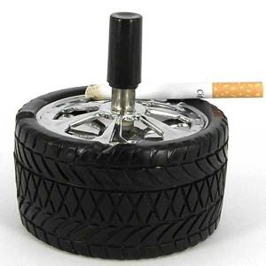 Пепельница в виде колеса