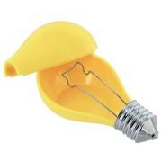 Пепельница в виде лампочки желтая