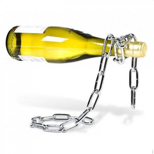Подставка для бутылки дизайнерская Цепь