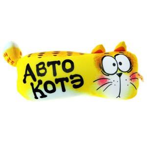 Подушка-подголовник цилиндр Авто-котэ!
