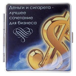 Портсигар Деньги и сигарета