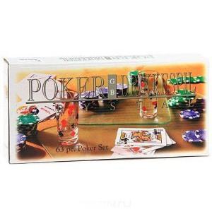 Пьяный покер на 120 фишек с рюмками