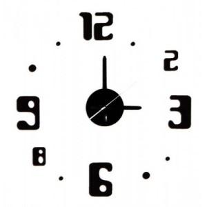 Самоклеящиеся настенные часы с точками