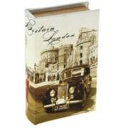 Сейф-книга шёлк Путешествие в старый Лондон