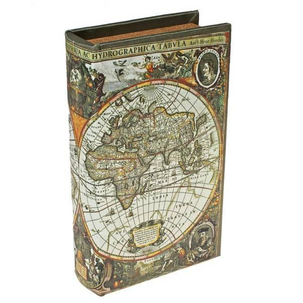 Сейф книга Карта первооткрывателей