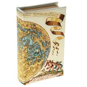 Сейф книга шелк Карта Коперника