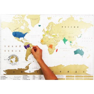Скретч карта