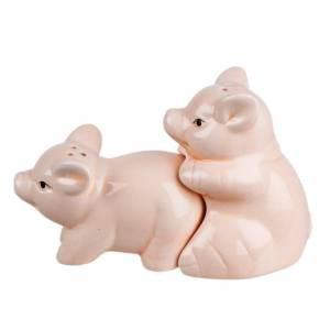 Солонка и перечница свинки набор для специй