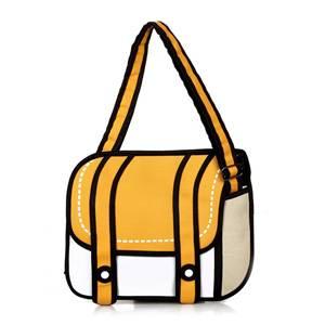 Сумка 2D рюкзак с двумя ремешками и карманом