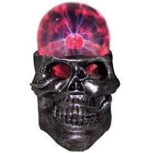 Светильник плазма череп большой