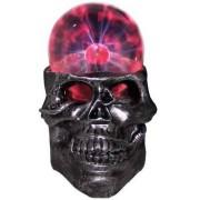 Светильник плазма череп малый
