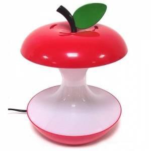 Светильник в виде откусанного яблока