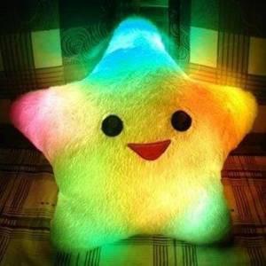 Светящаяся подушка «Звезда»