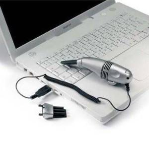 USB - пылесос для клавиатуры