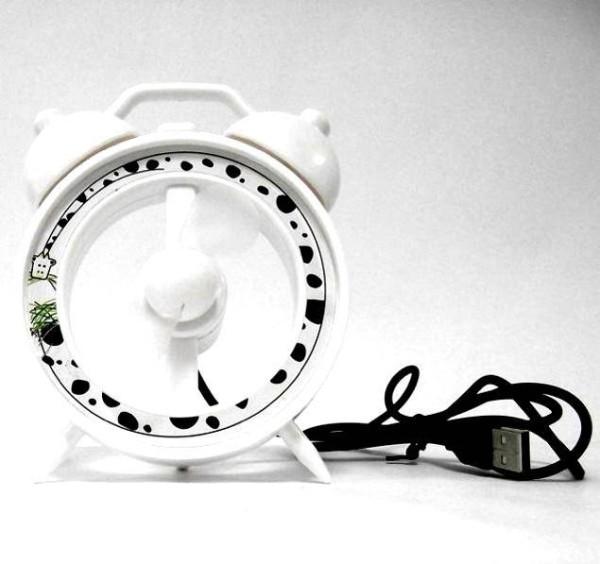 USB Вентилятор в виде будильника
