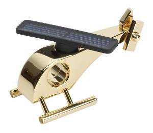 Вертолёт на солнечных батареях (золотой)