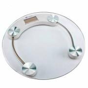 Весы электронные прозрачные круглые