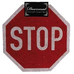 Входной коврик STOP