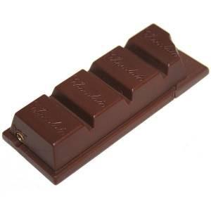 """Зажигалка """"Шоколад"""" коричневая"""