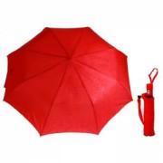 Зонт полуавтомат красный