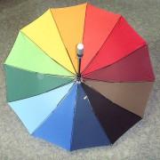 зонт радуга простой