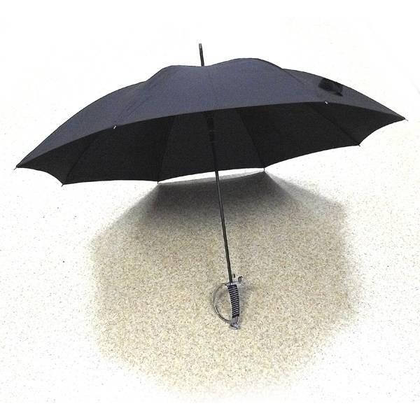 Зонт сабля черный