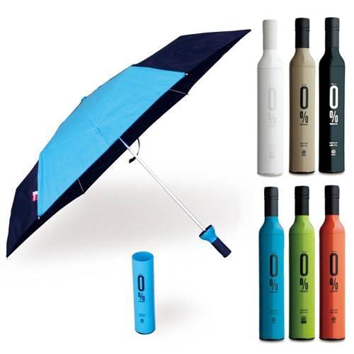 Зонт в бутылке разные цвета